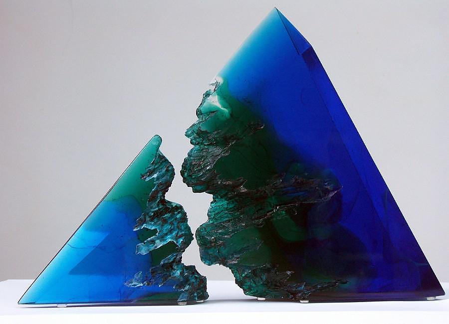 Stephen Beardsell Glass Sculptures
