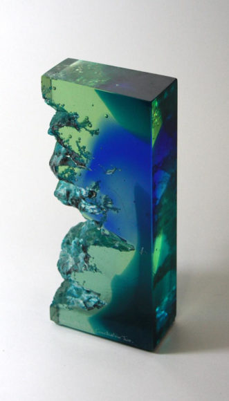 Glass Sculptures by Stephen Beardsell.