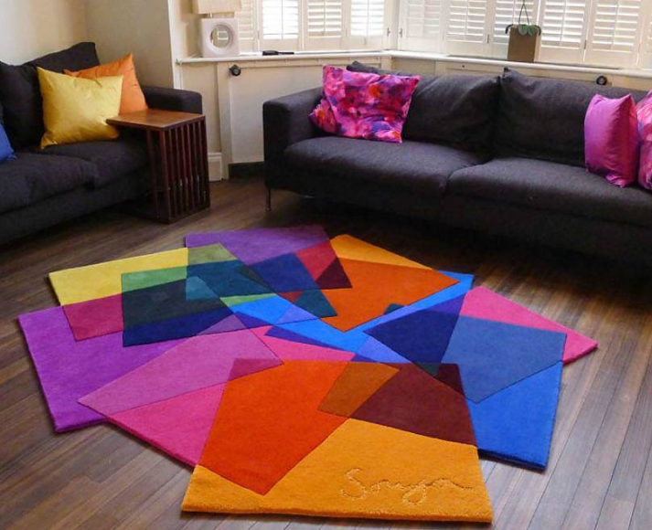 After Matisse Rug by Sonya Winner.