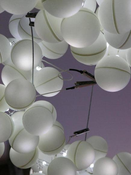Φωτιστικό Pong από το Studio Make Light.