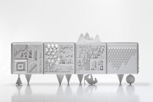 Tout Va Bien Cabinet by  BD Barcelona Design