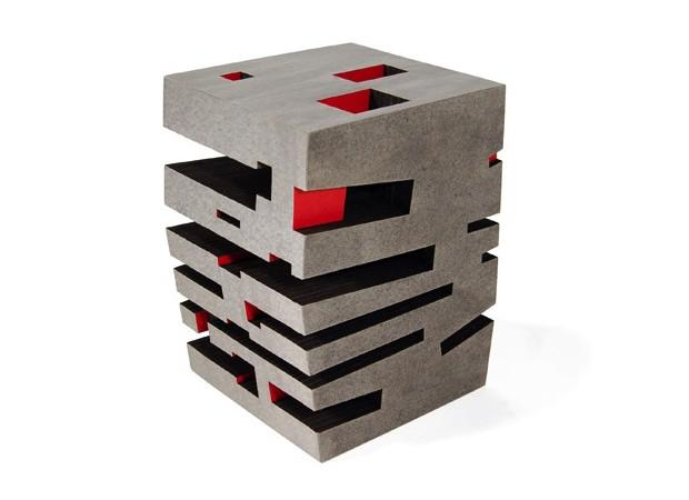 Matt Gagnon Paper Sidetable