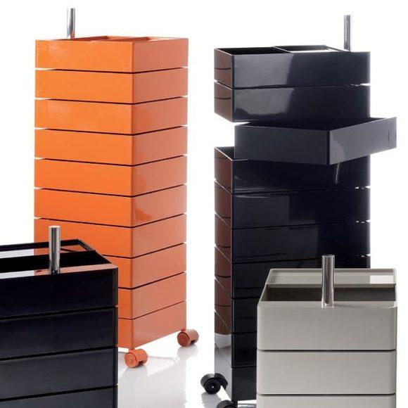 Τροχήλατη συρταριέρα 360° Container της Magis.