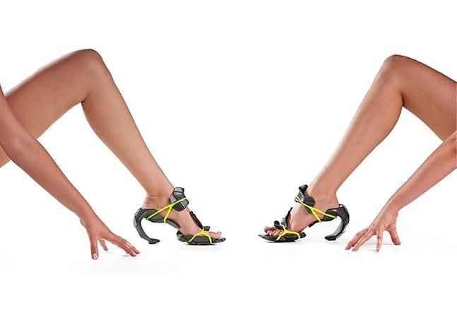 MyShell256 Modular Shoes by Sharon Golan.