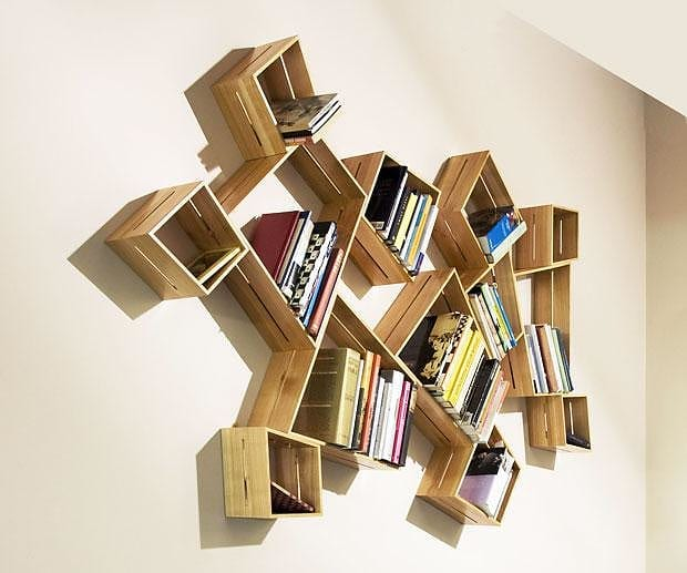 SUM shelves by Peter Marigold for SCP
