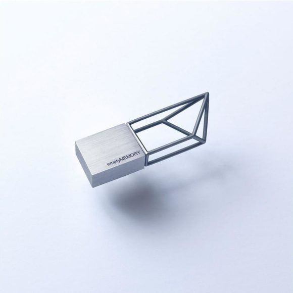 Empty Memory USB sticks by Logical Art.