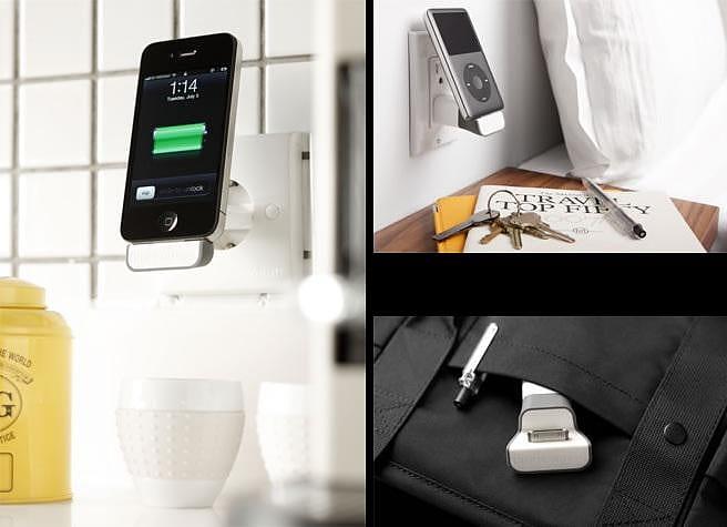 Το MiniDock της BlueLounge φορτίζει το iPhone με στυλ.