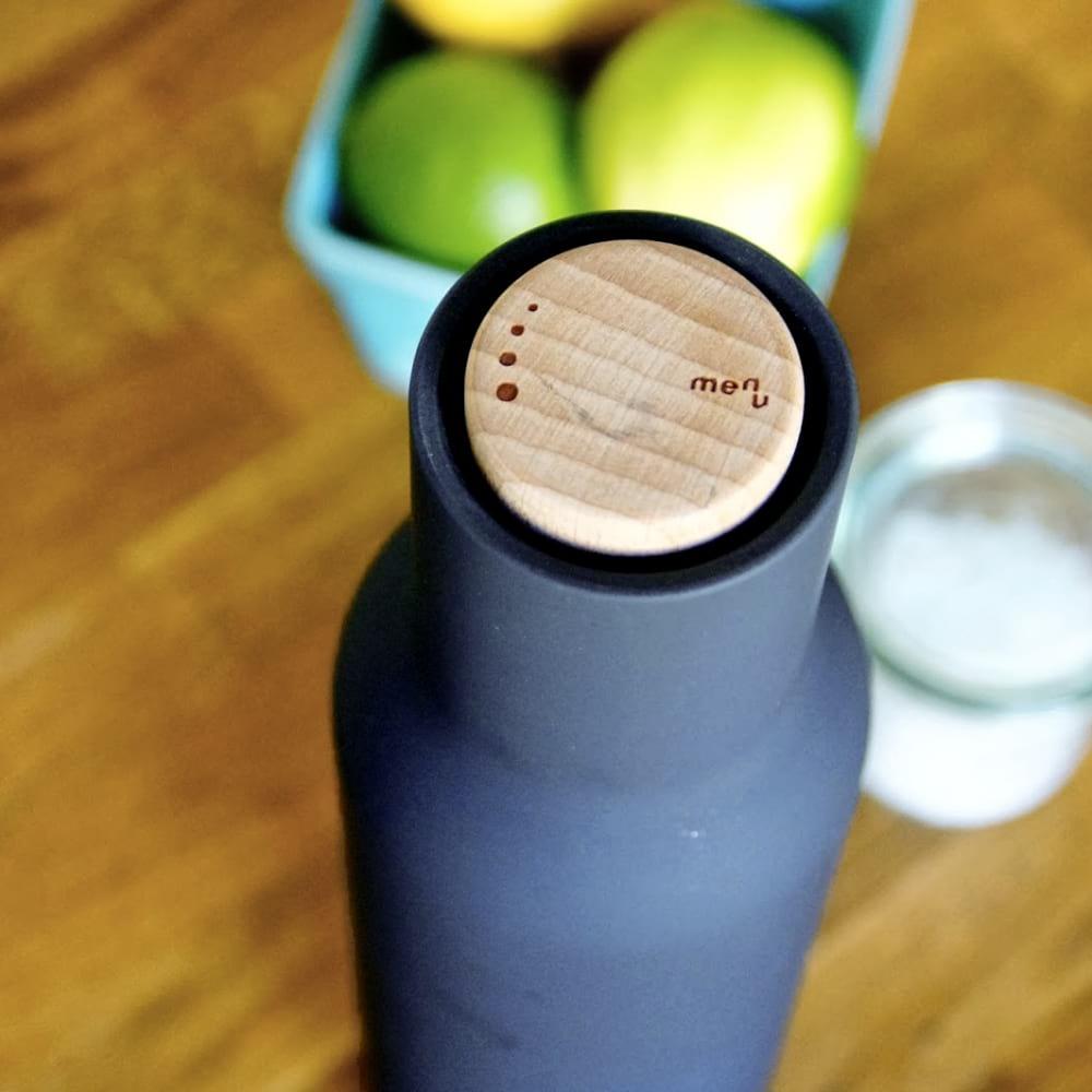 Bottle Grinder Salt Amp Pepper Set Classic Blue Design Is This