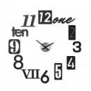Ρολόι τοίχου NUMBRA (Μαύρο) - Umbra