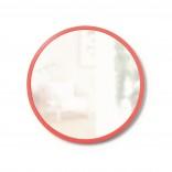 Στρόγγυλος Καθρέφτης Τοίχου HUB 46 εκ (Κοραλί) - Umbra