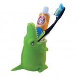 Θήκη / Βάση για Οδοντόβουρτσες Alligator (Πράσινο)