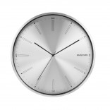 Ρολόι Τοίχου Distinct (Ματ Ατσάλι) - Karlsson
