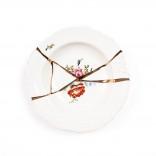 Διακοσμητικό Πιάτο / Μπολ Kintsugi N.2 (Γυαλί / Χρυσός) - Seletti