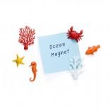 Μαγνητάκια Ocean Ecology (Σετ των 6) - Qualy