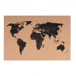 World Map Πίνακας Ανακοινώσεων Φελλού - Present Time