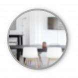 Στρόγγυλος Καθρέφτης Τοίχου HUB 61 εκ (Γκρι) - Umbra