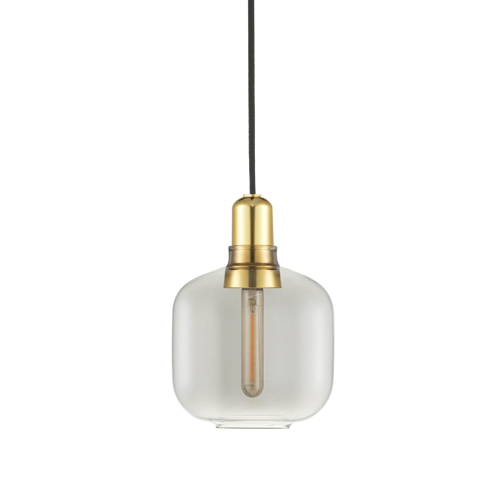 Φωτιστικό Οροφής Amp Small (Γκρι / Χρυσό) - Normann Copenhagen