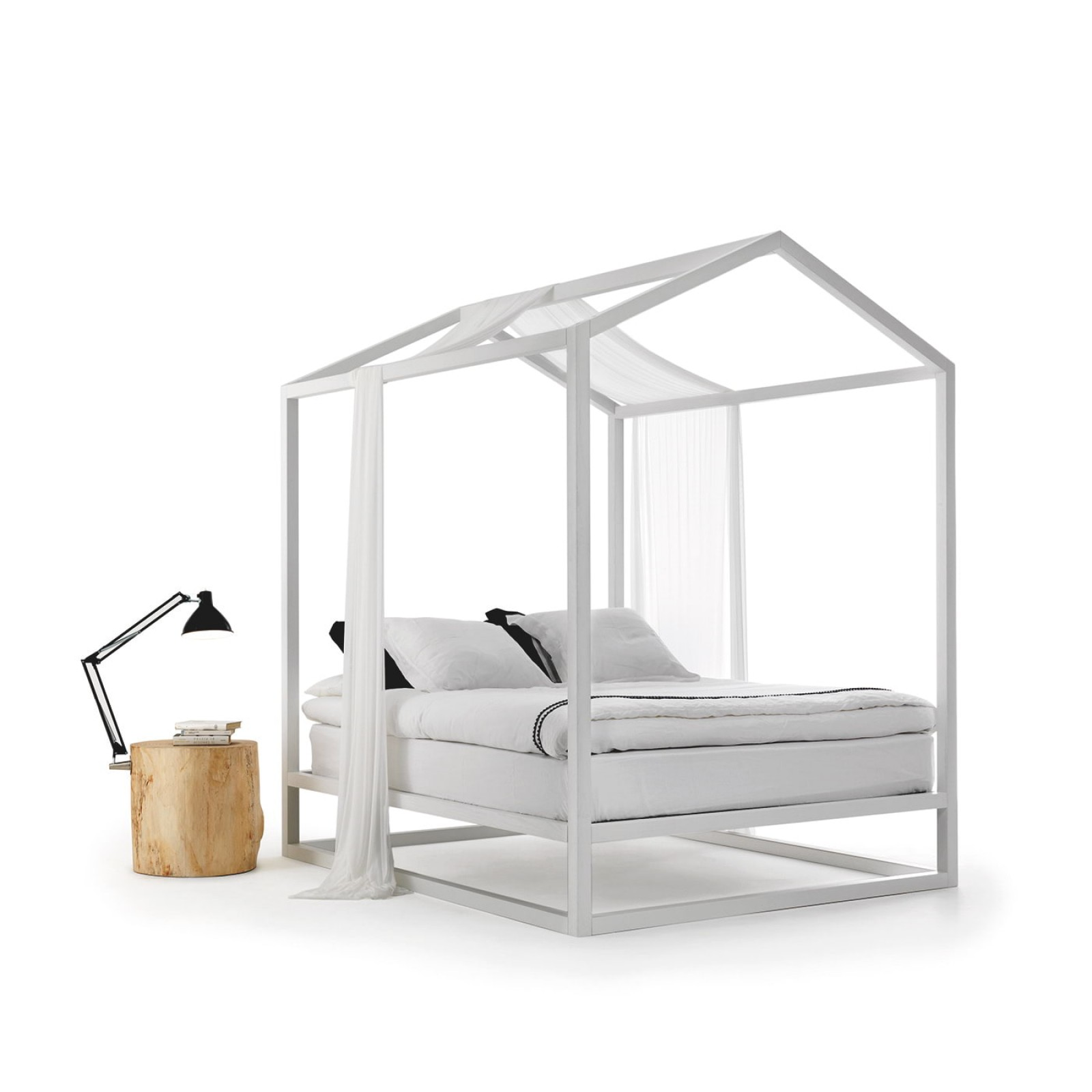 Κρεβάτι με Ουρανό Casetta In Canadà - Mogg