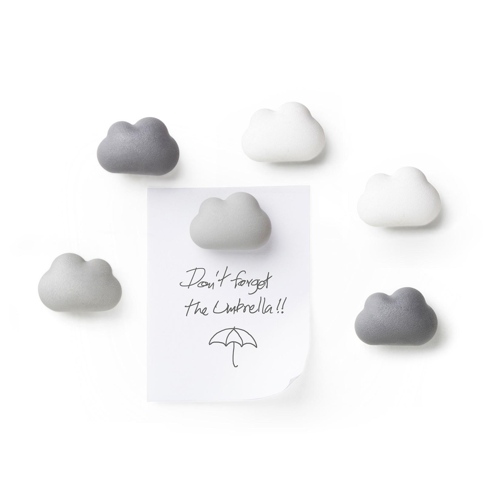 Μαγνητάκια Cloud (Σετ των 6) - Qualy