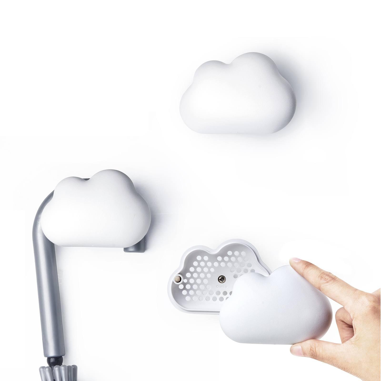 Κρεμάστρα Τοίχου Cloud Λευκό της Qualy