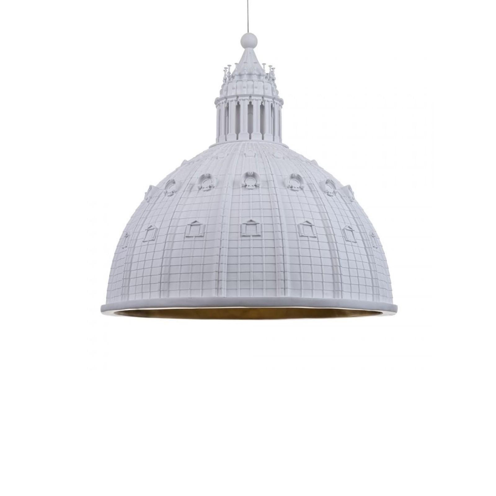 Κρεμαστό Φωτιστικό Οροφής Cupolone Quarantacinque (Λευκό) - Seletti