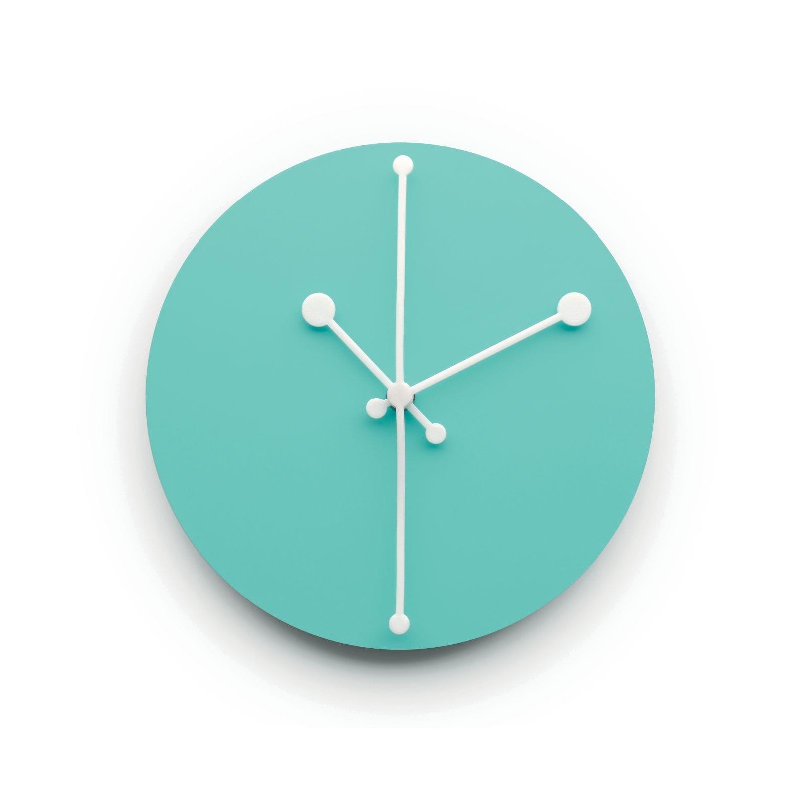 Ρολόι Τοίχου Dotty (Τιρκουάζ) - Alessi