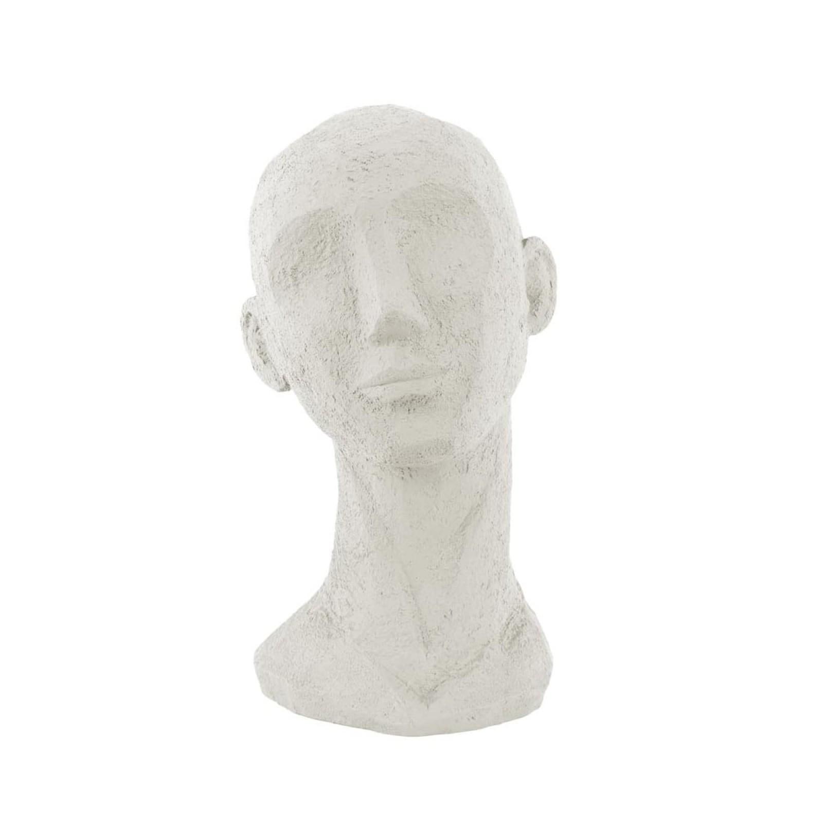 Διακοσμητικό Αγαλματίδιο Face Art Up Large (Ιβουάρ) - Present Time