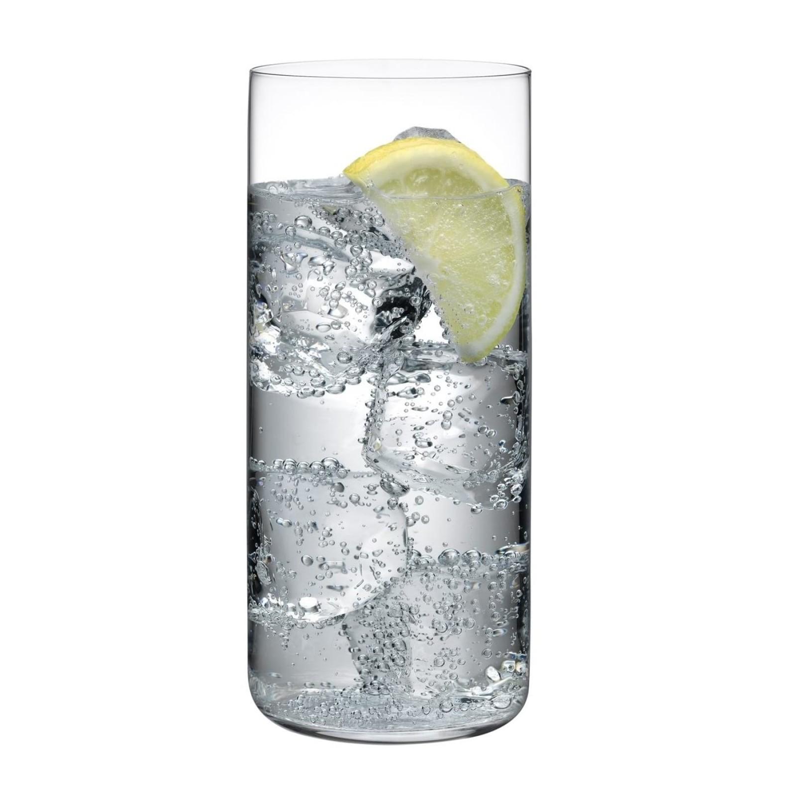 Ψηλά Ποτήρια Finesse High Ball 445 ml. (Σετ των 6) - Nude Glass
