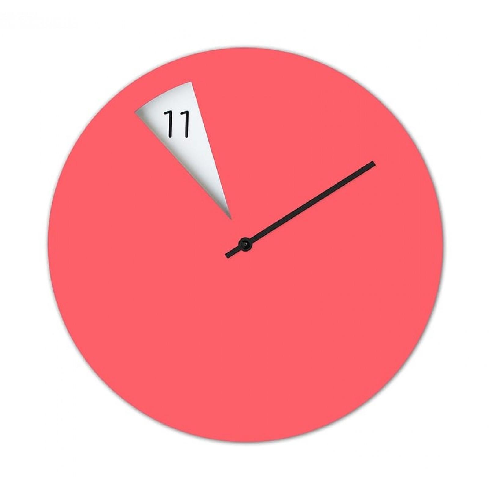Ρολόι Τοίχου Freakish (Ροζ) - Sabrina Fossi Design