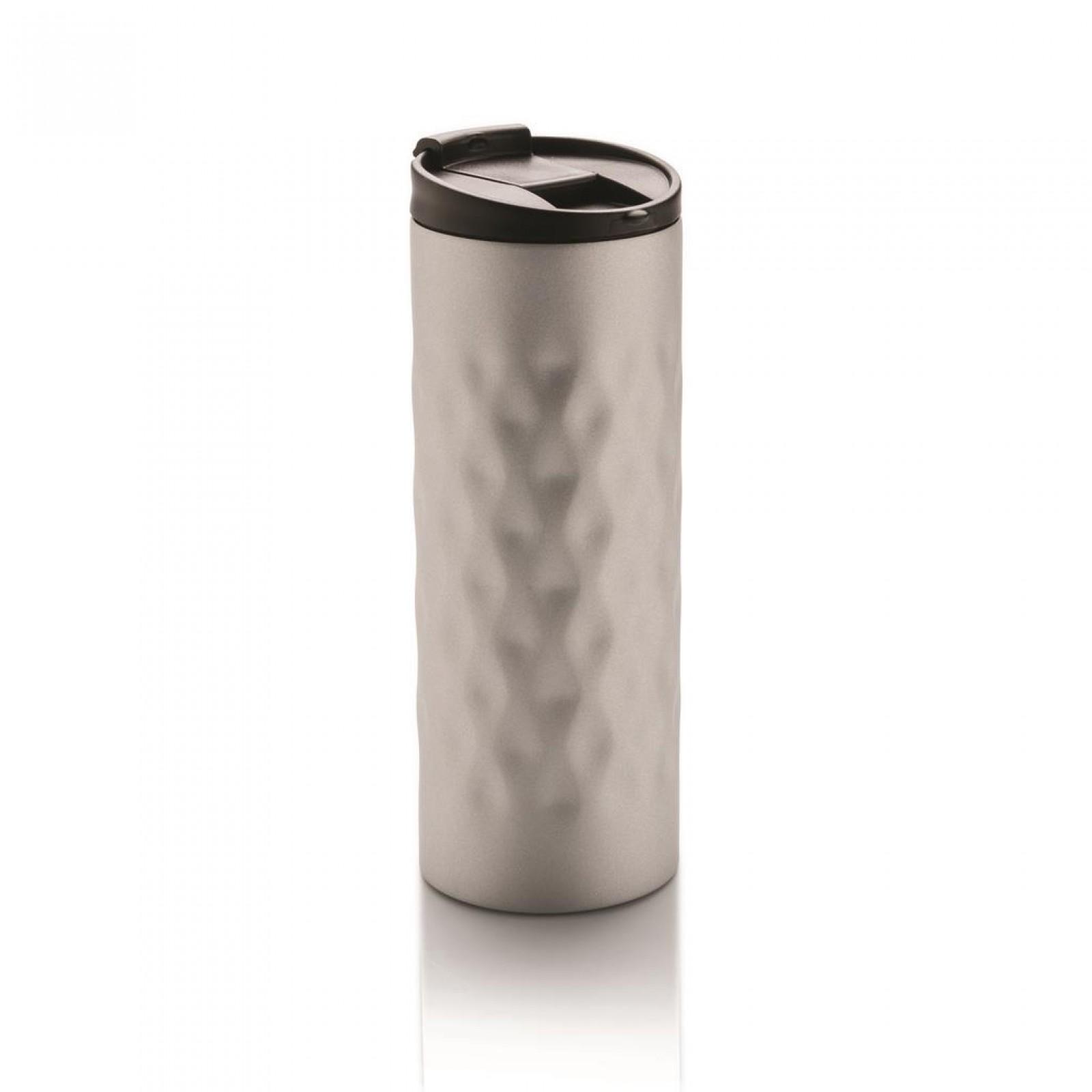 Ατσάλινο Θερμός Geometric (Ασημί) - XD Design