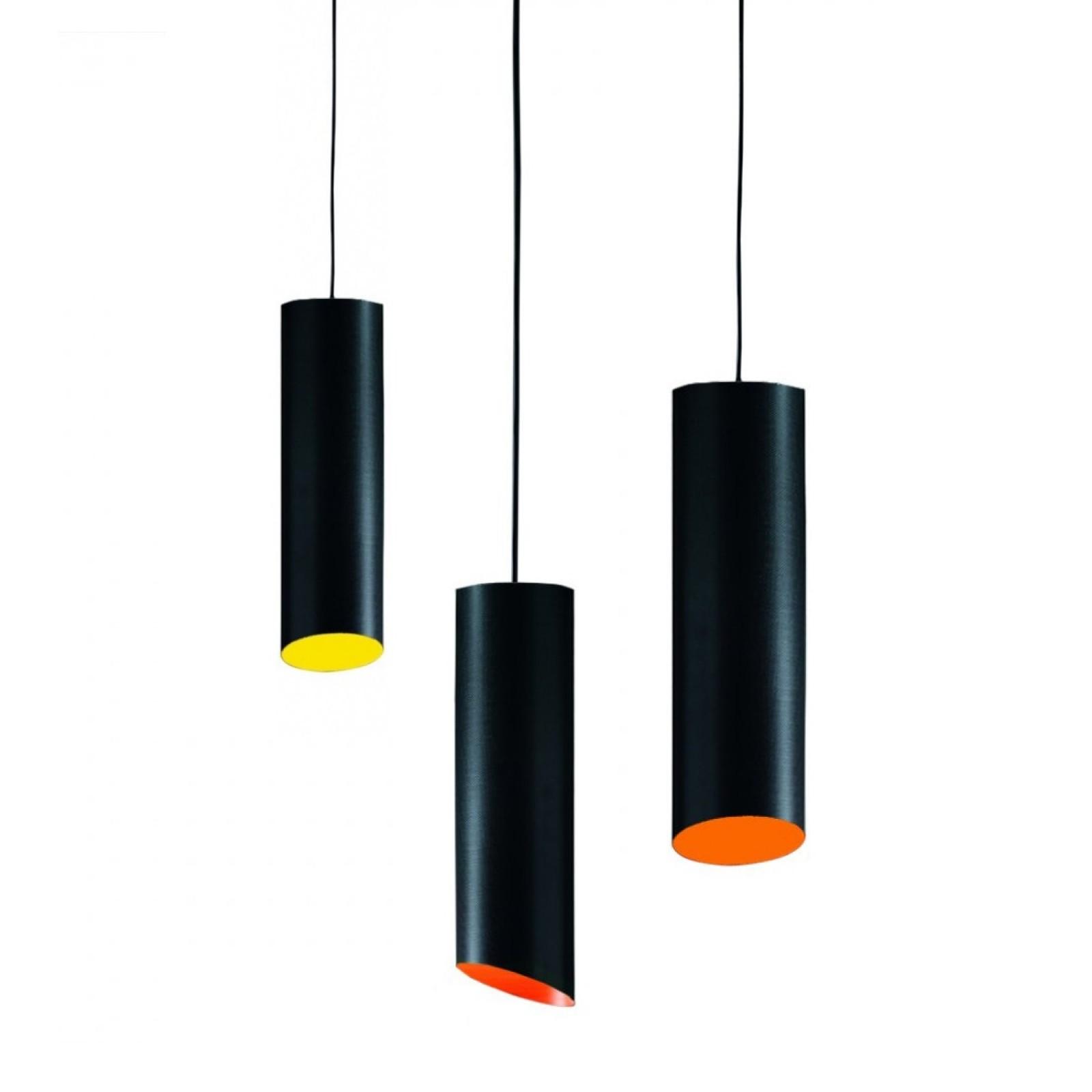 Φωτιστικό Οροφής Slice Suspended (Carbon Fiber) - Karboxx