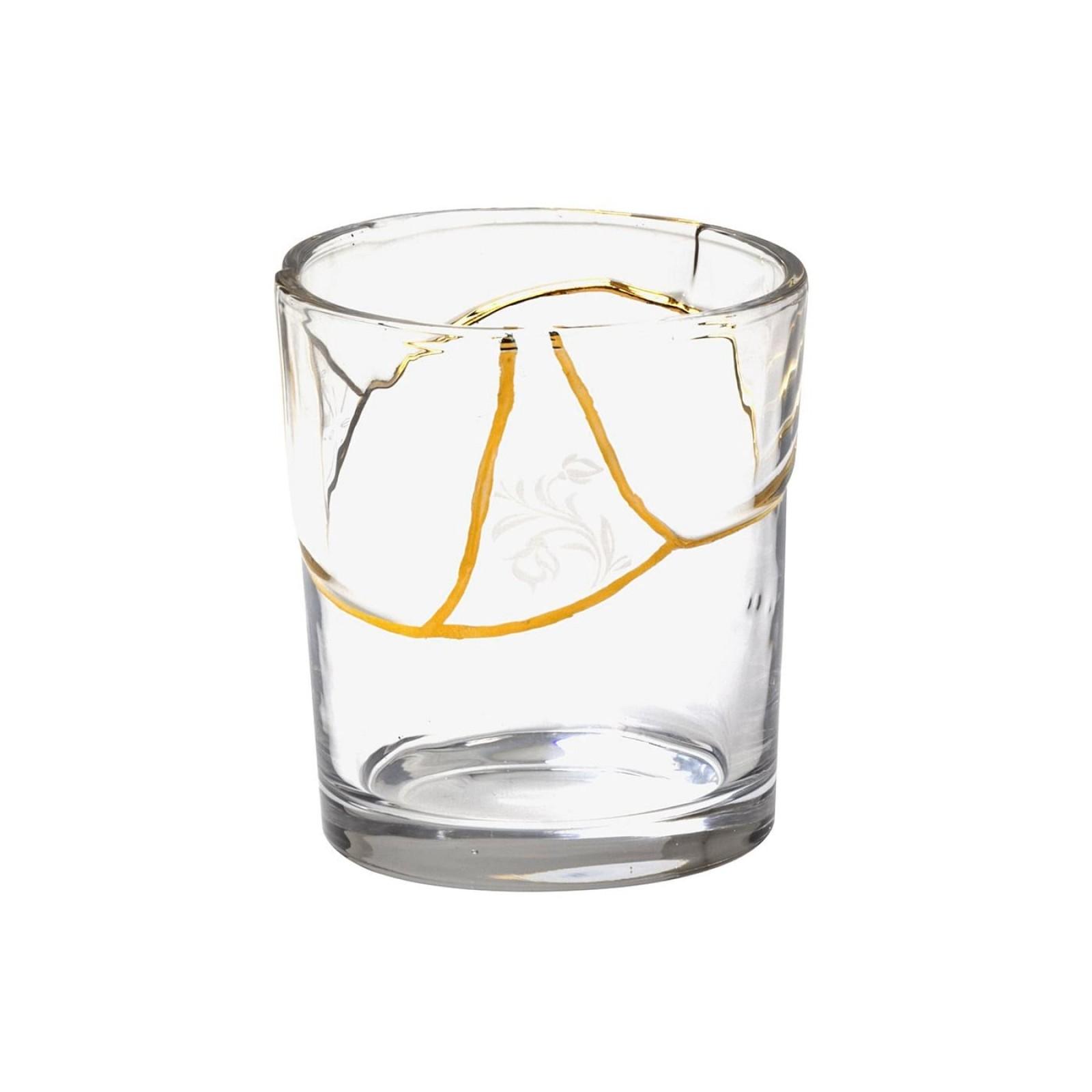 Ποτήρι Kintsugi N.3 (Γυαλί / Χρυσός) - Seletti