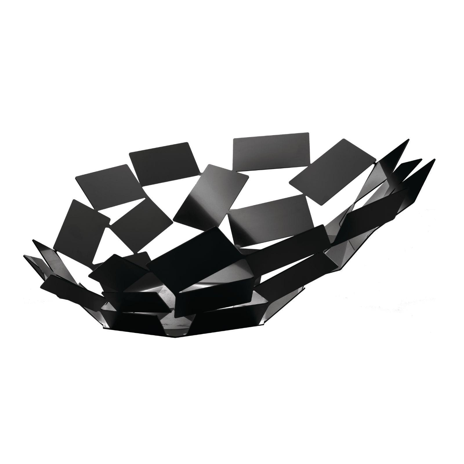 """Φρουτιέρα / Μπολ """"La Stanza dello Scirocco"""" (Μαύρο) - Alessi"""