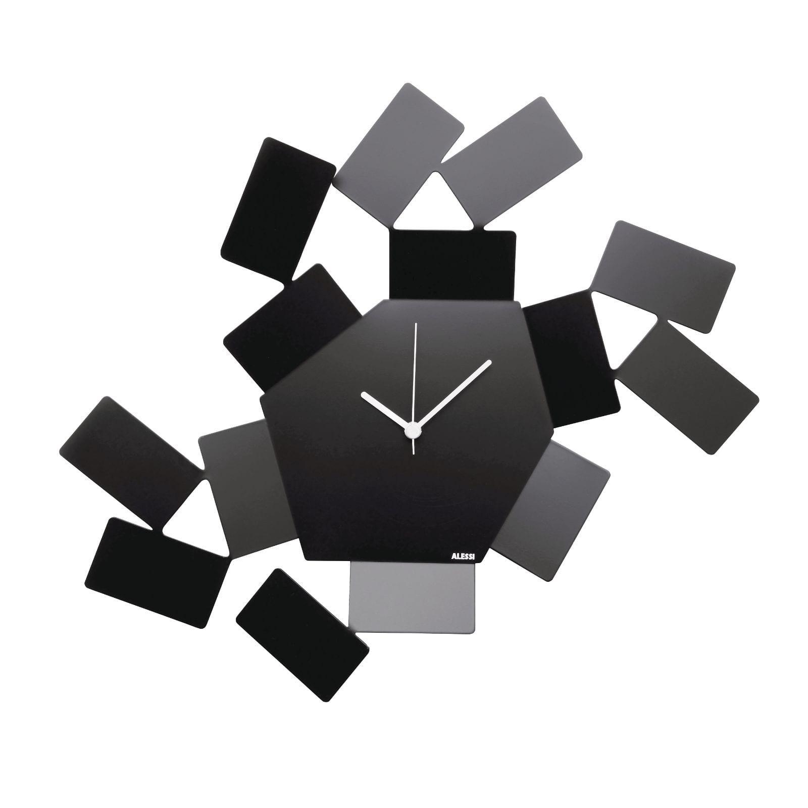 """Ρολόι Τοίχου """"La Stanza dello Scirocco"""" (Μαύρο) - Alessi"""