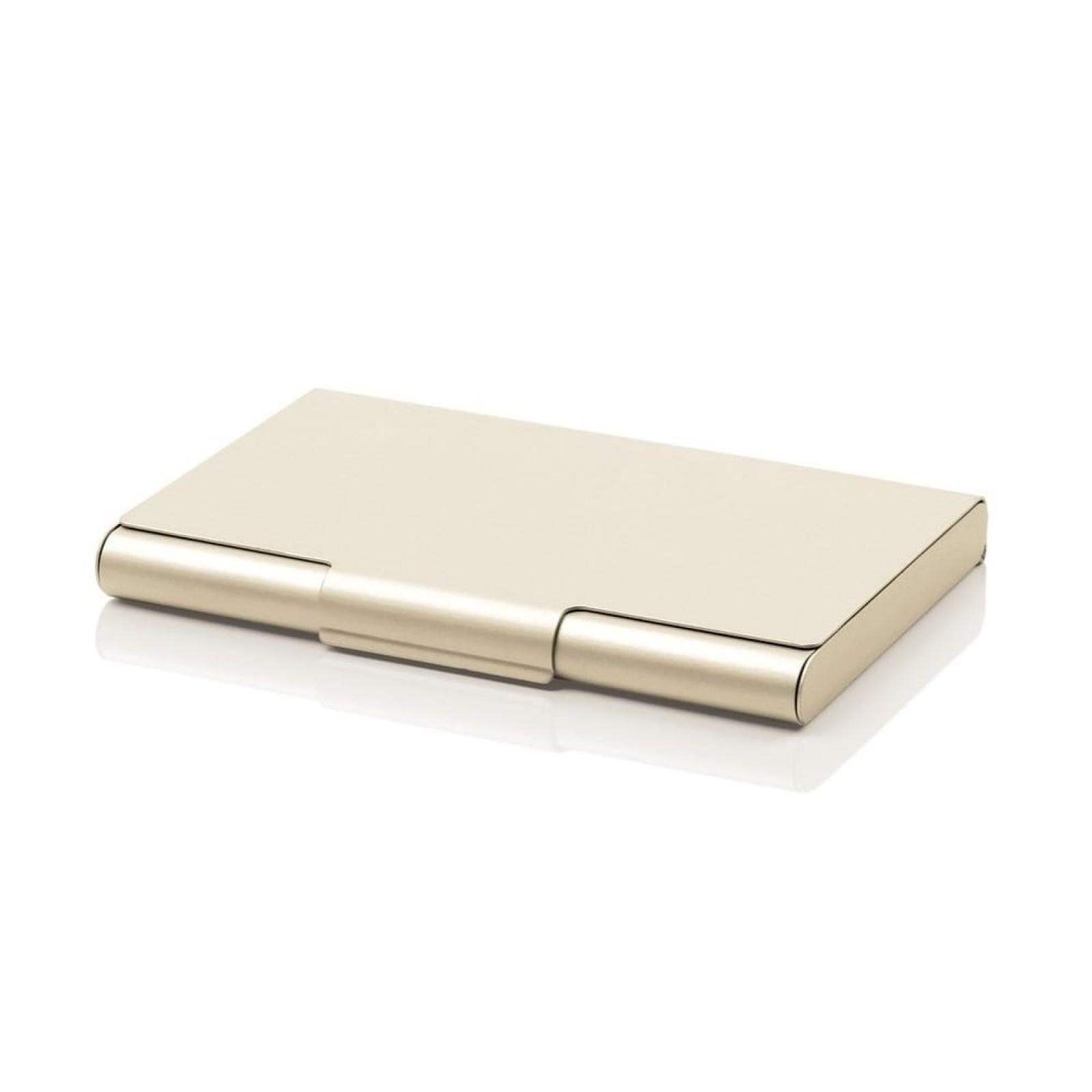 Θήκη για 20 Επαγγελματικές Κάρτες (Χρυσό) - LEXON