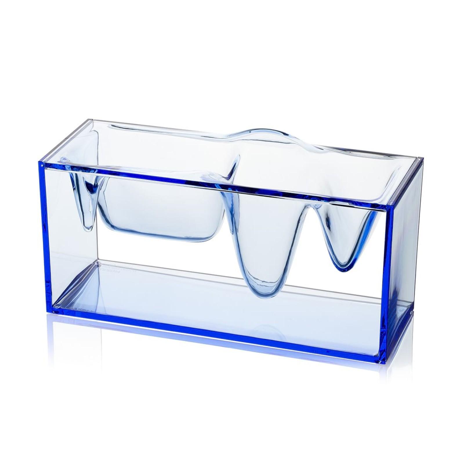 Βάση Οργάνωσης Γραφείου Liquid (Μπλε) – LEXON