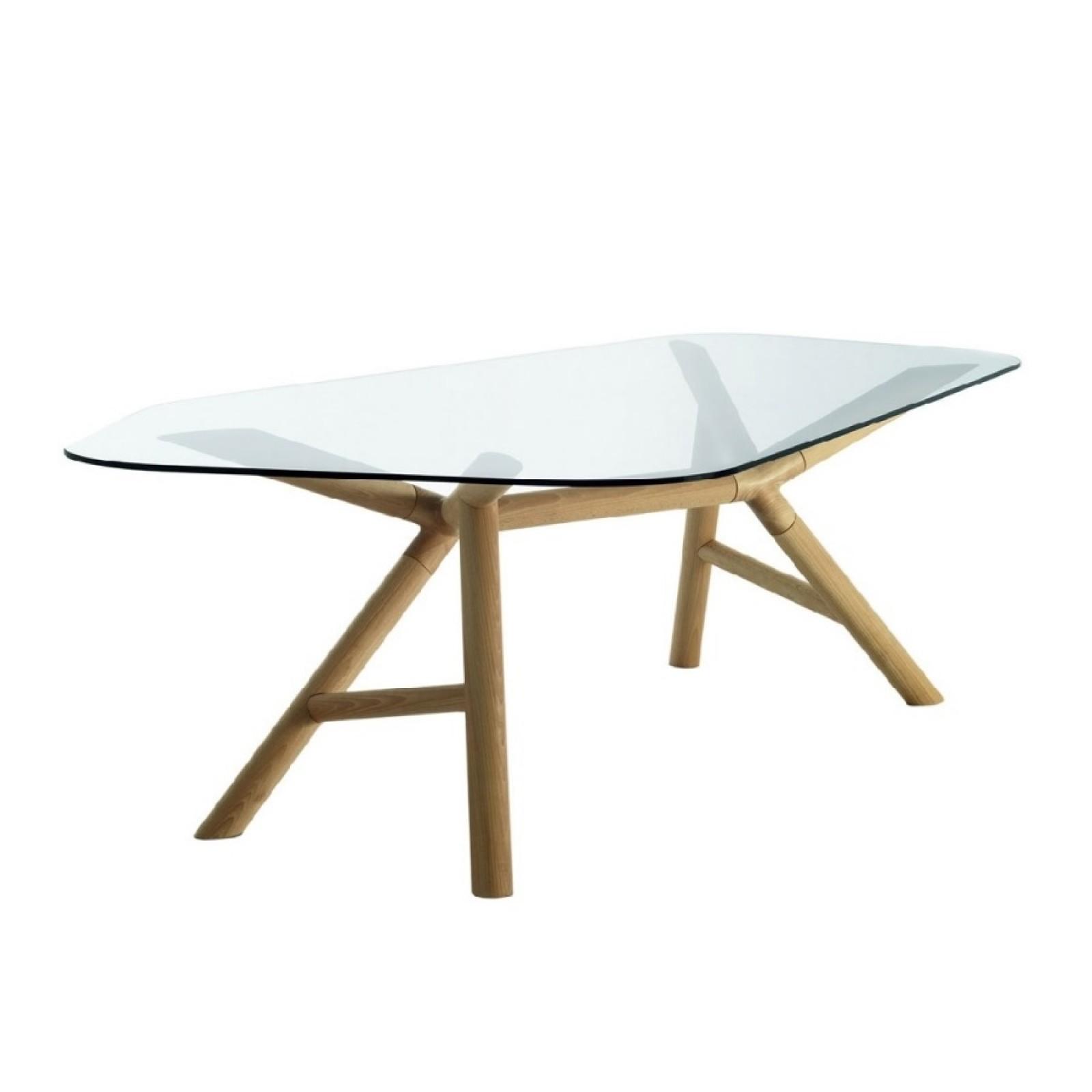 Γυάλινο Τραπέζι Otto - Miniforms