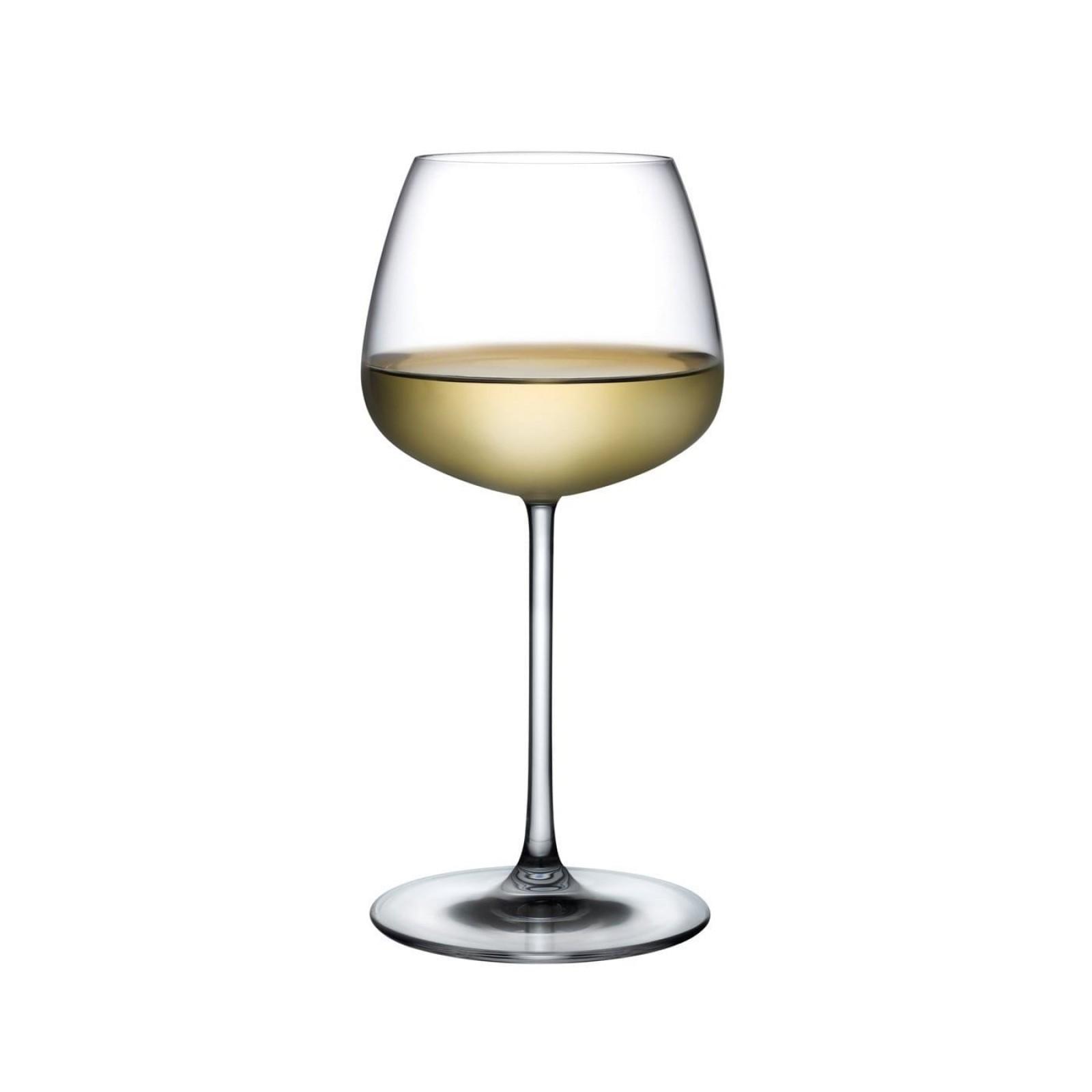 Ποτήρια Λευκού Κρασιού Mirage 425 ml (Σετ των 6) - Nude Glass