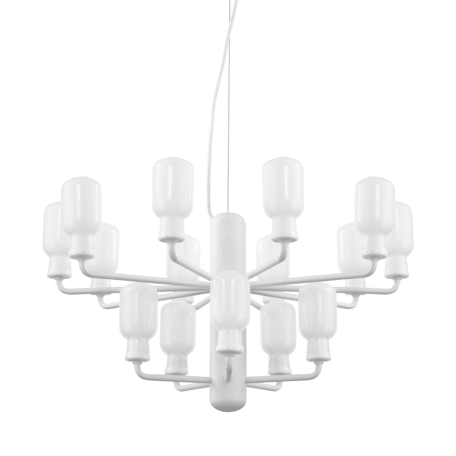 Πολυέλαιος Amp Small 15 Λάμπες LED (Λευκό) - Normann Copenhagen