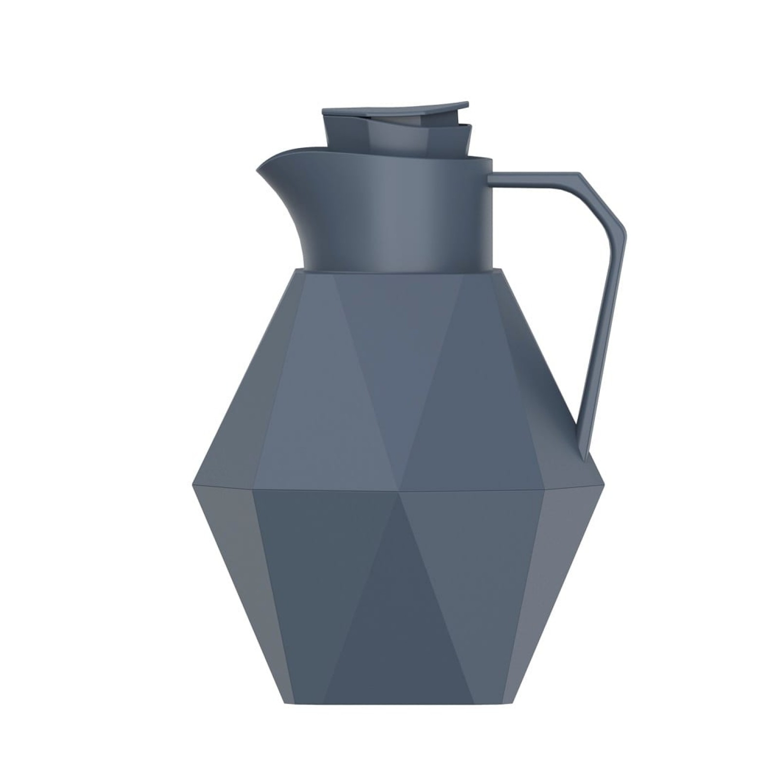 Καράφα / Θερμός Origami 1000 ml (Μπλε Ματ) - Present Time