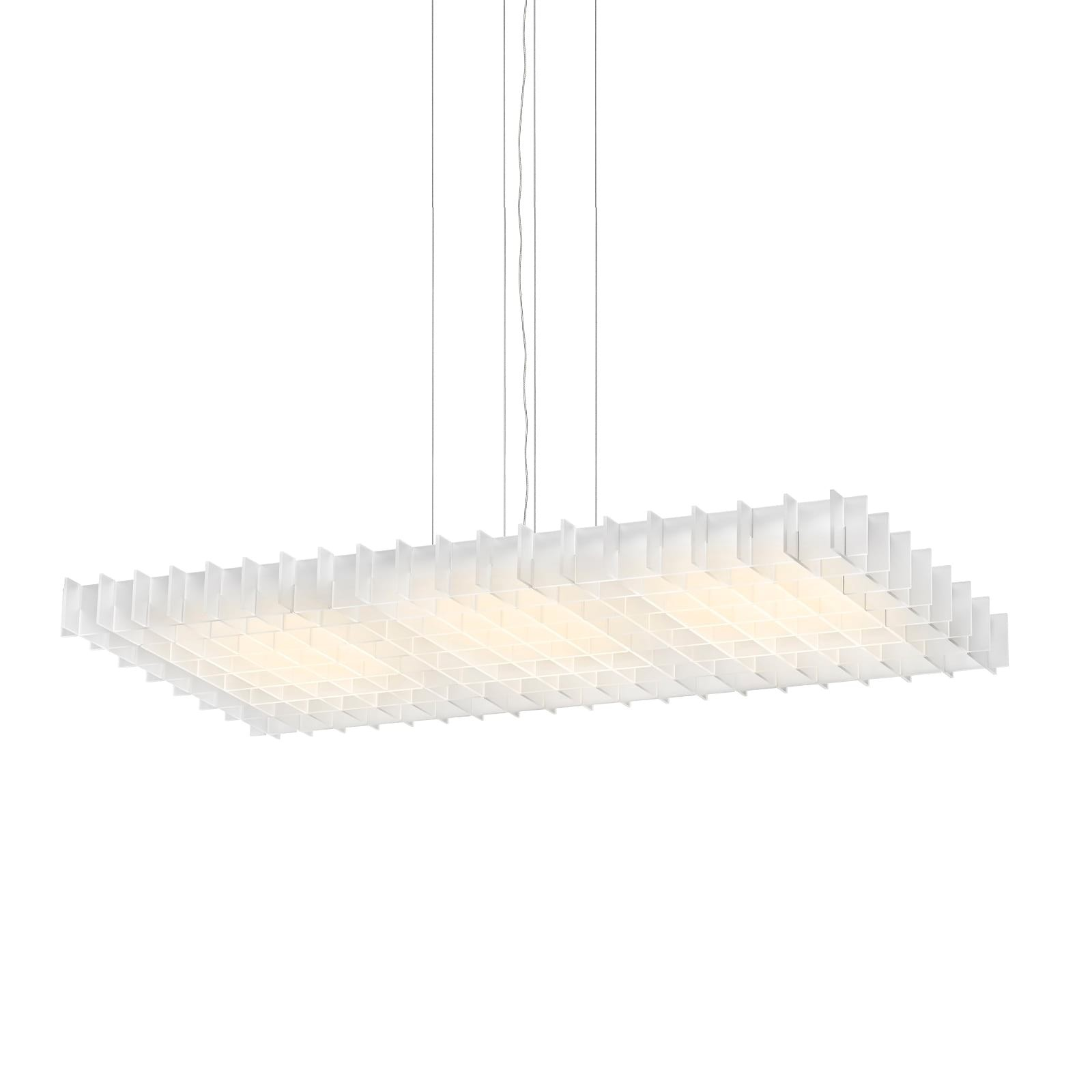 LED Φωτιστικό Οροφής Grid Τριπλό (Λευκό) - Pablo Designs