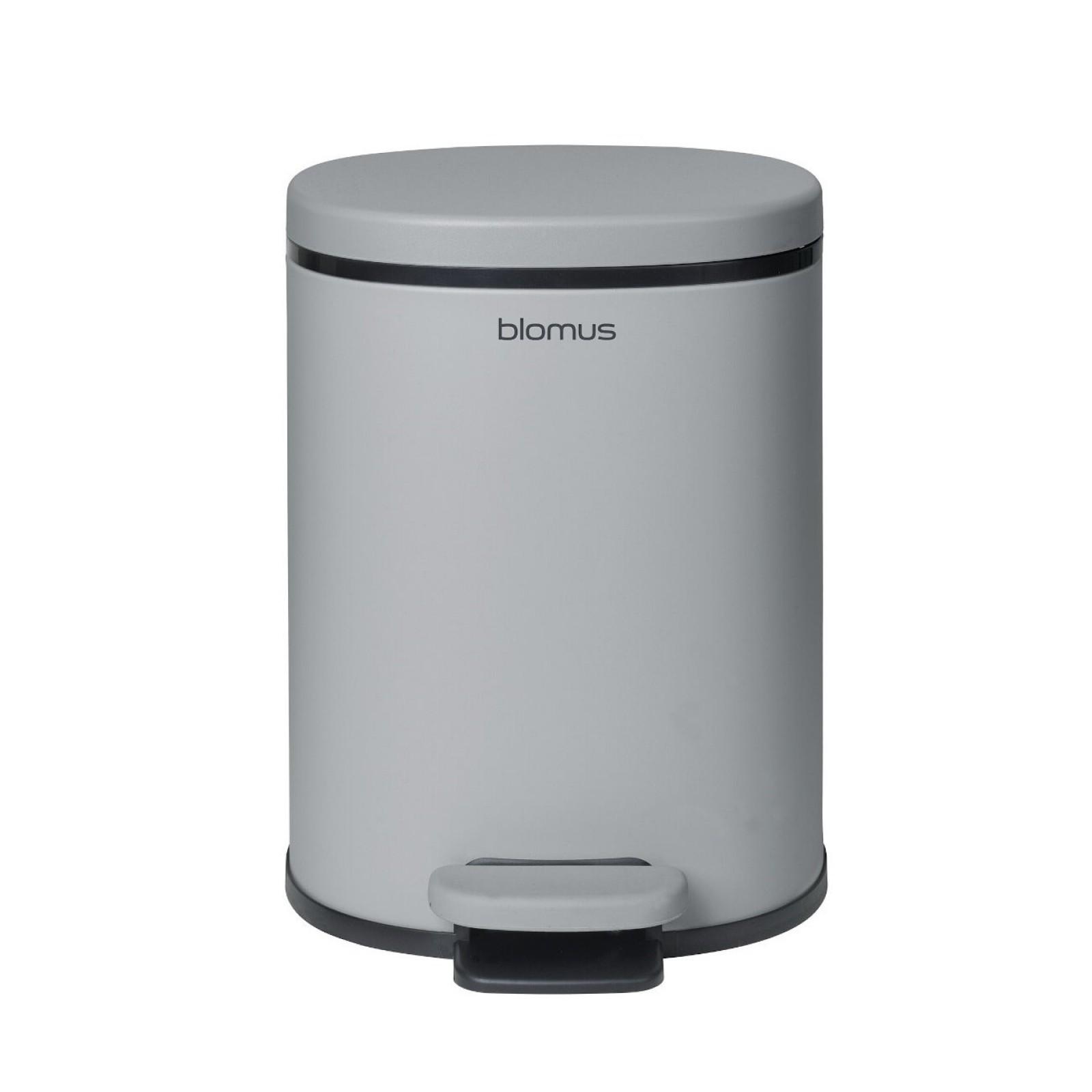 Κάδος Μπάνιου PARA 5 Λίτρα (Ανοιχτό Γκρι) - Blomus