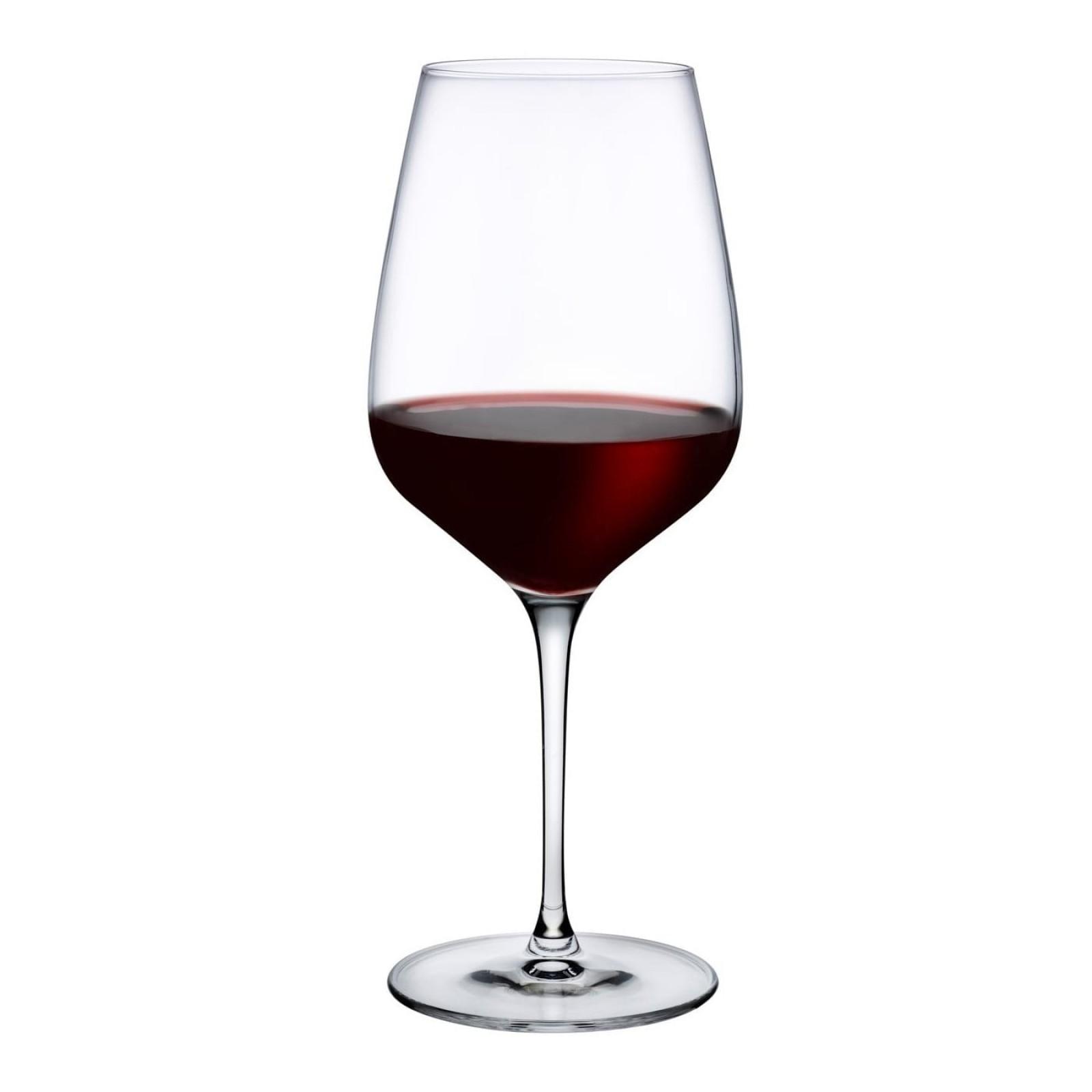 Ποτήρια Κόκκινου Κρασιού Refine 610 ml (Σετ των 6) - Nude Glass
