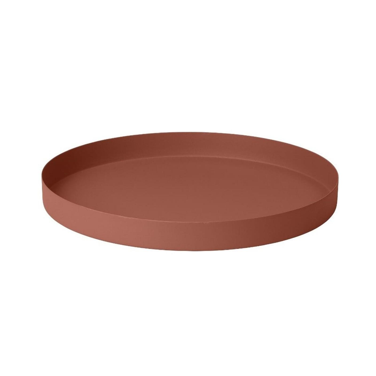 Πιατέλα Σερβιρίσματος REO Medium (Καφέ Ρουστίκ) - Blomus