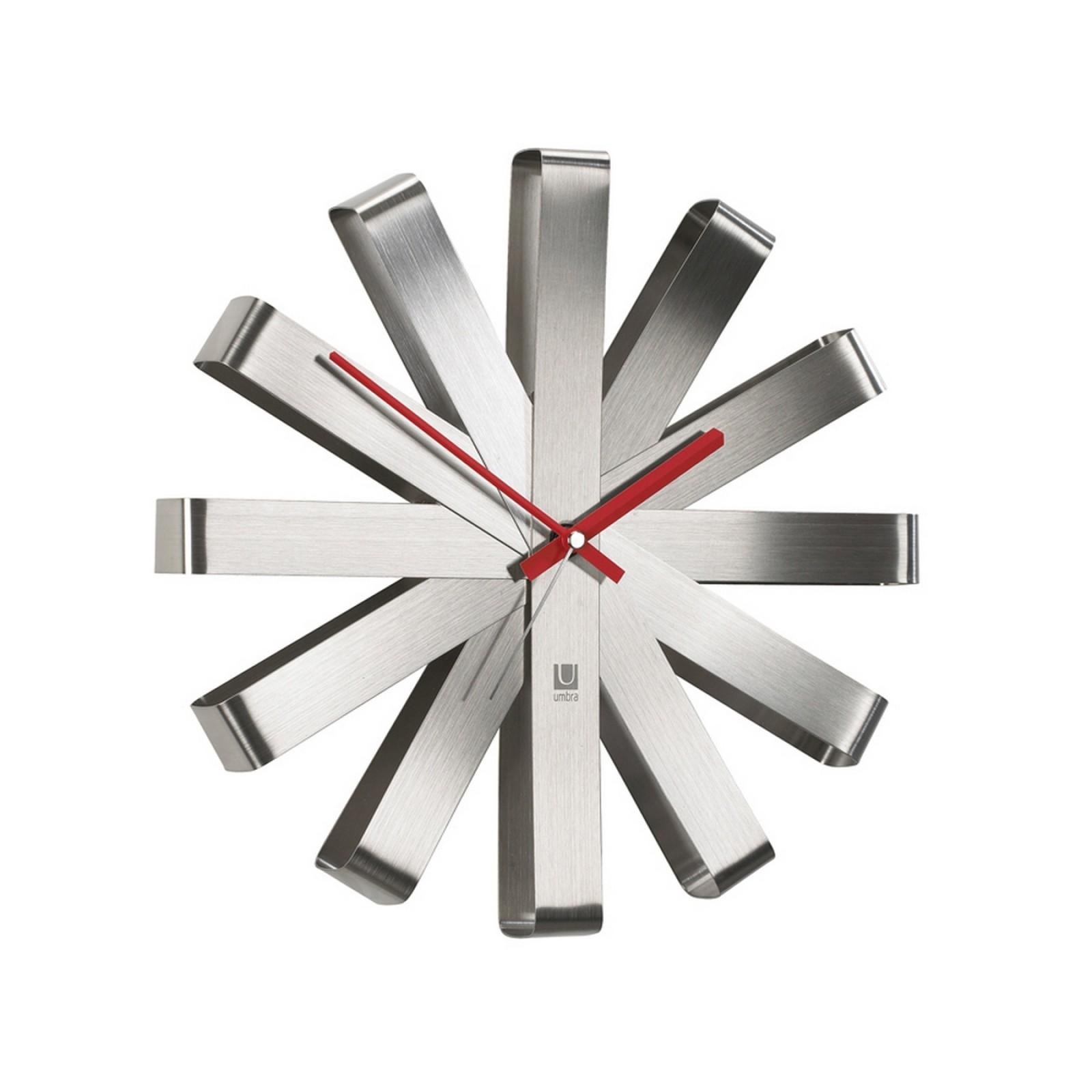 Ρολόι Τοίχου Ribbon (Ατσάλι) - Umbra