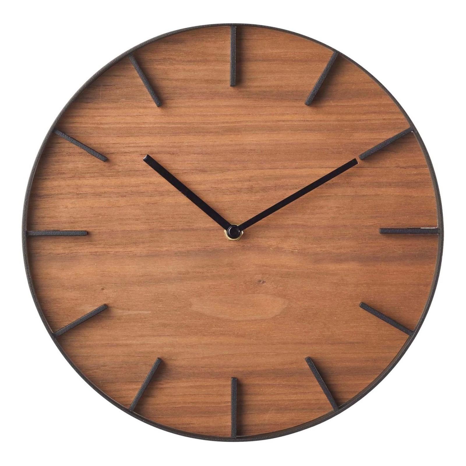Ρολόι Τοίχου Rin (Μαύρο) - Yamazaki