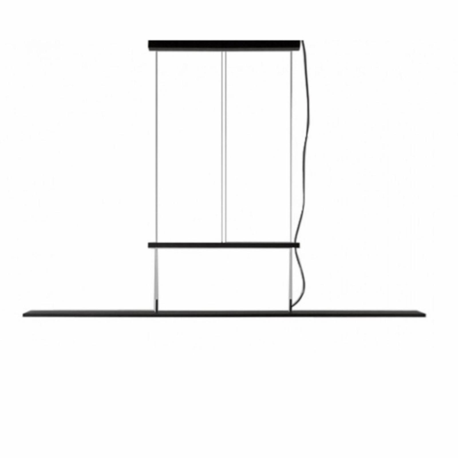 Κρεμαστό Φωτιστικό Οροφής LED BlancoWhite Golden Gate - Santa & Cole