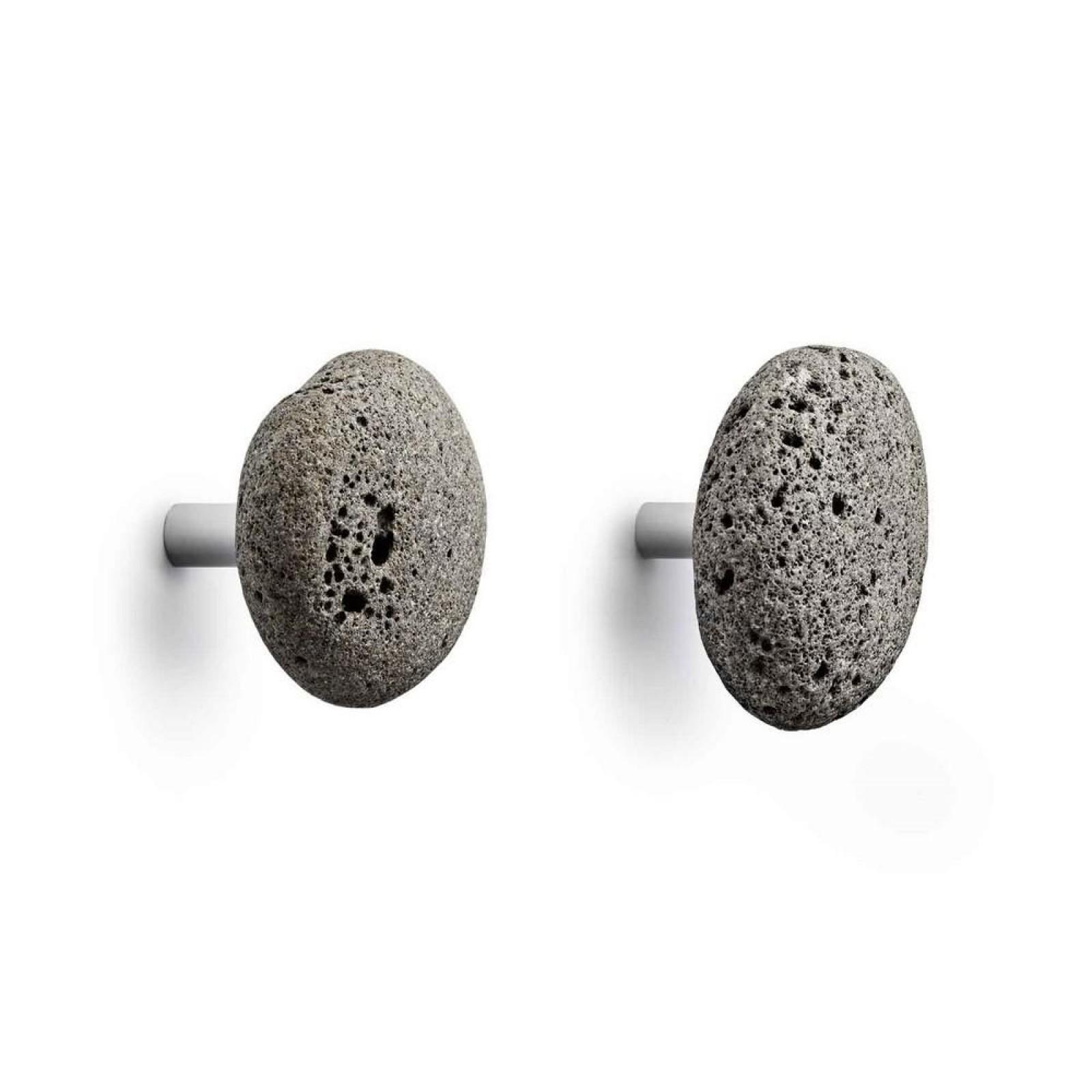 Πέτρινες κρεμάστρες Stone Hooks (σετ των 2) - Normann Copenhagen