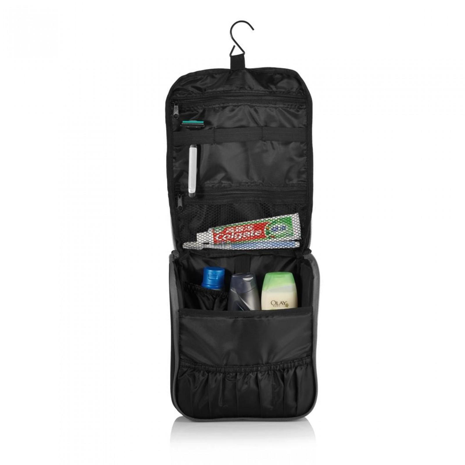 Τσάντα Αποθήκευσης Ταξιδιού με Κρεμάστρα The City (Μαύρο) - XD Design