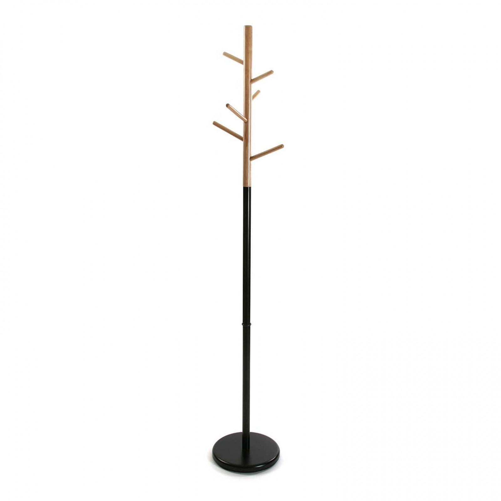 Καλόγερος Ρούχων Tree (Μέταλο / Ξύλο) - Versa